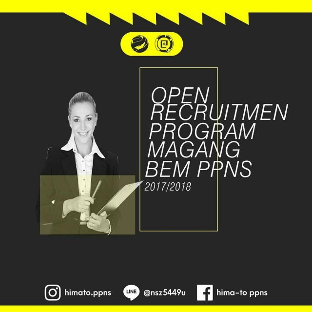Repost bemppns OPEN RECRUITMENT PROGRAM MAGANG Pemuda hari ini adalahhellip